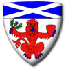 Members of The Heraldry Society of Scotland with Scottish Arms